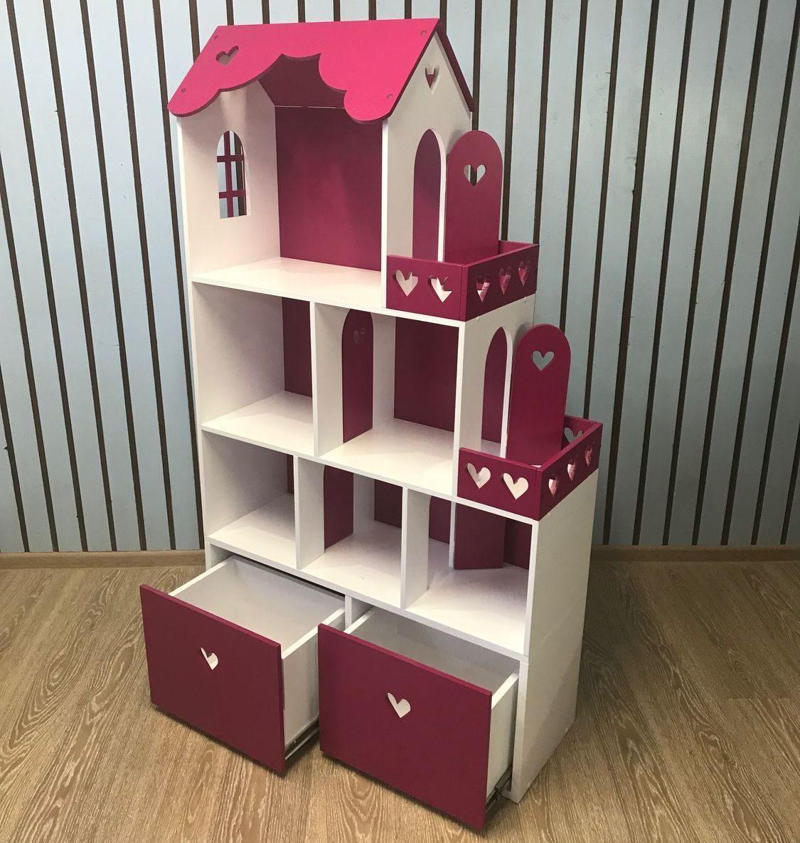 домик с комодом для детской