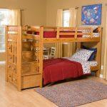 двухъярусная кровать из ольхи