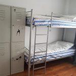 двухъярусная кровать серая