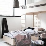 кровать двухъярусная светлая