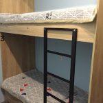 кровать двухъярусная лестничка