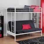 кровать двухъярусная железная