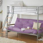 кровать двухъярусная с диванчиком