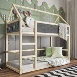 двухъярусная кровать икеа домик