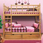 кровать икеа из дерева