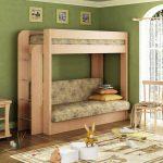 кровать икеа из широкого дерева