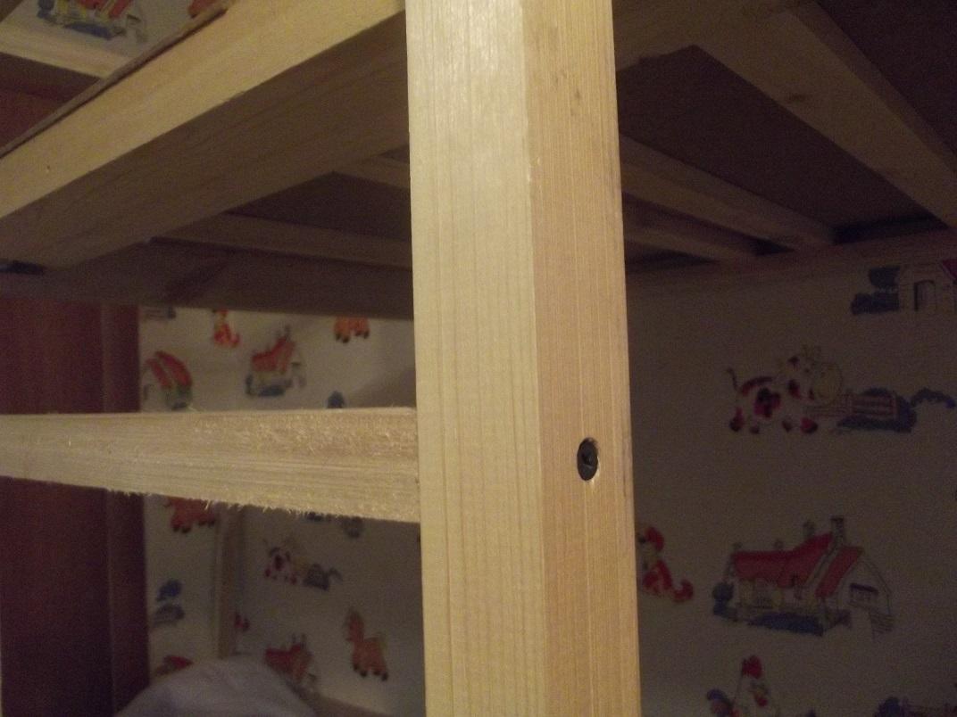 изготовление лестницы кровати