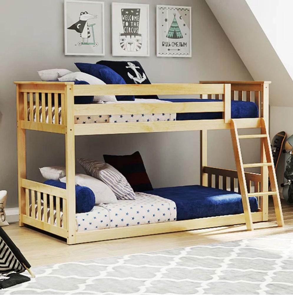 традиционная двухъярусная кровать