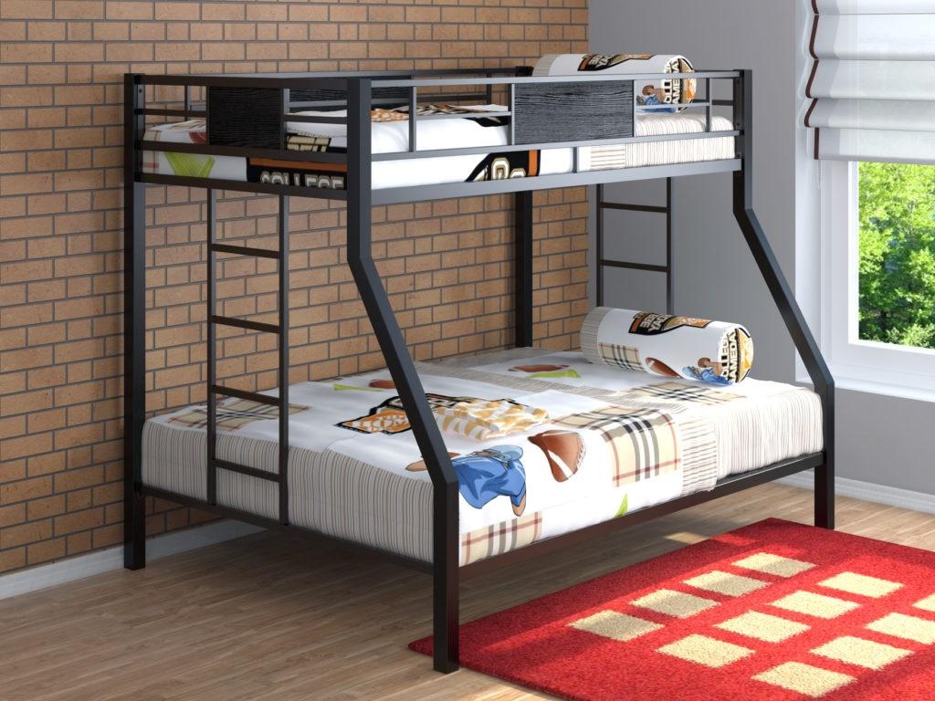 детская кровать из металла