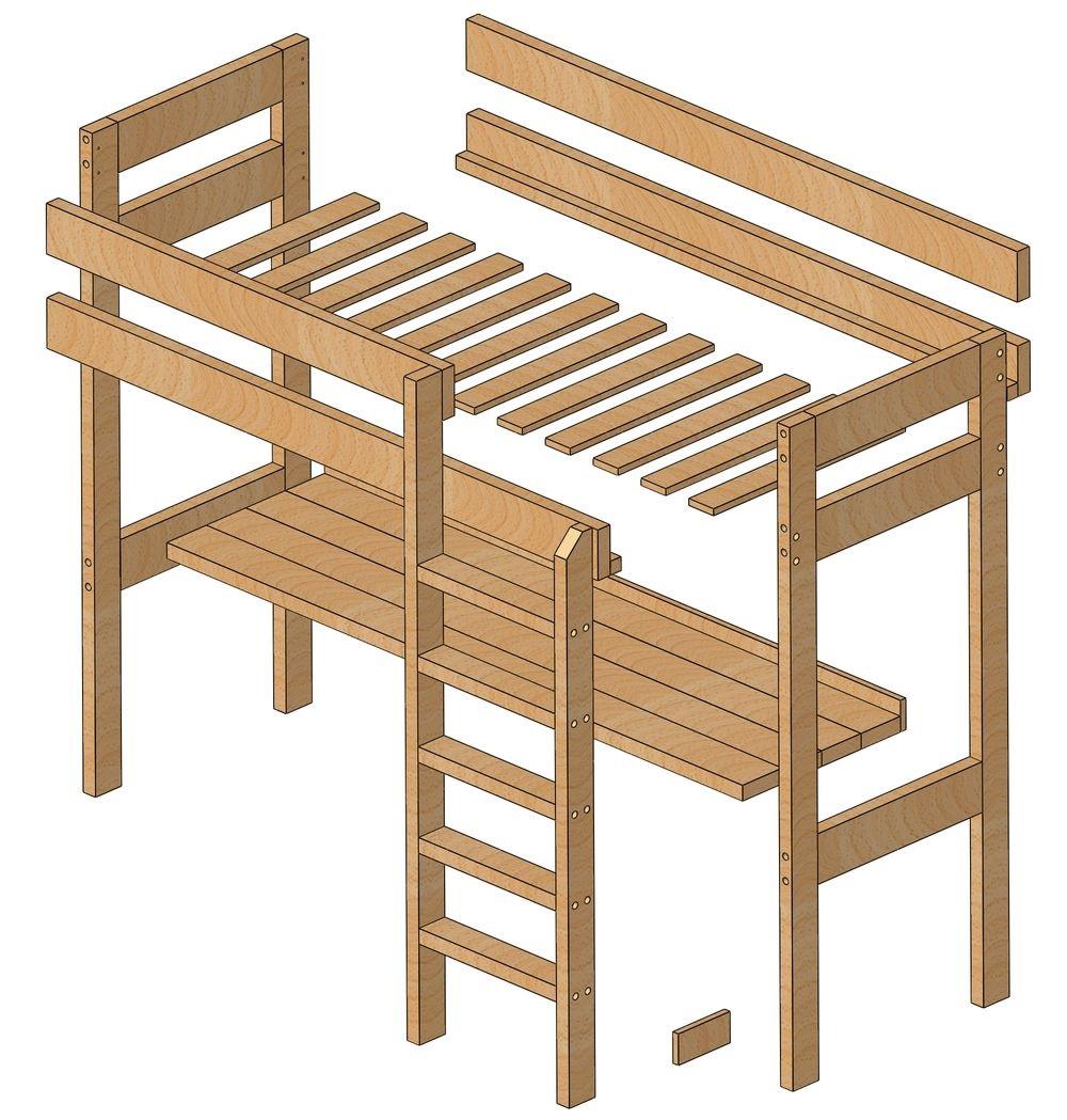 изготовление каркаса кровати