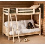 детская двухъярусная кровать с медведем