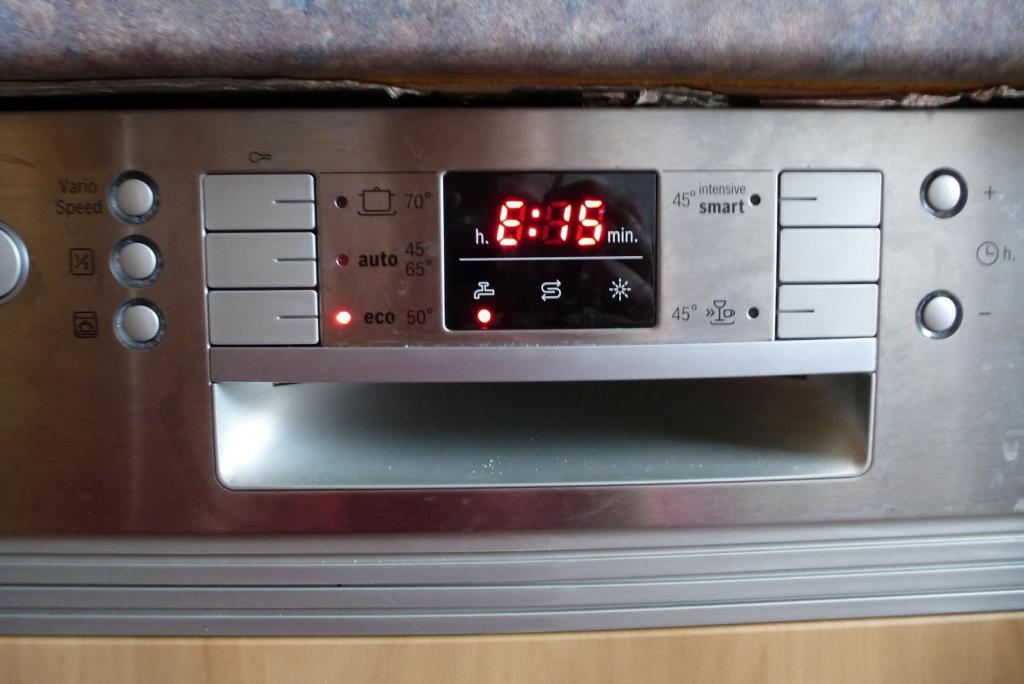 е15 посудомойка бош