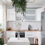 эргономичный кухонный гарнитур идеи дизайна