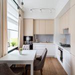 эргономичный кухонный гарнитур декор фото