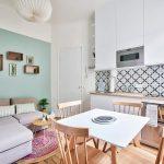эргономичный кухонный гарнитур идеи декора