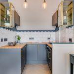 эргономичный кухонный гарнитур фото