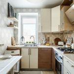 эргономичный кухонный гарнитур интерьер
