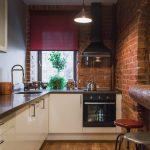 эргономичный кухонный гарнитур фото оформление