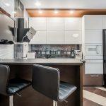 эргономичный кухонный гарнитур идеи оформление