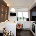 эргономичный кухонный гарнитур варианты фото