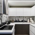 эргономичный кухонный гарнитур идеи фото