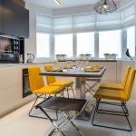 эргономичный кухонный гарнитур идеи вариантов