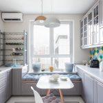 эргономичный кухонный гарнитур фото виды