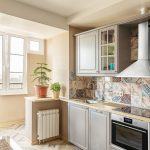 эргономичный кухонный гарнитур фото идеи