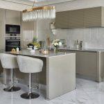 эргономичный кухонный гарнитур виды оформления