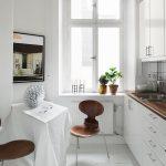 эргономичный кухонный гарнитур дизайн фото