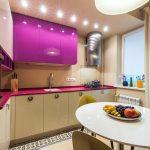 эргономичный кухонный гарнитур фото дизайна