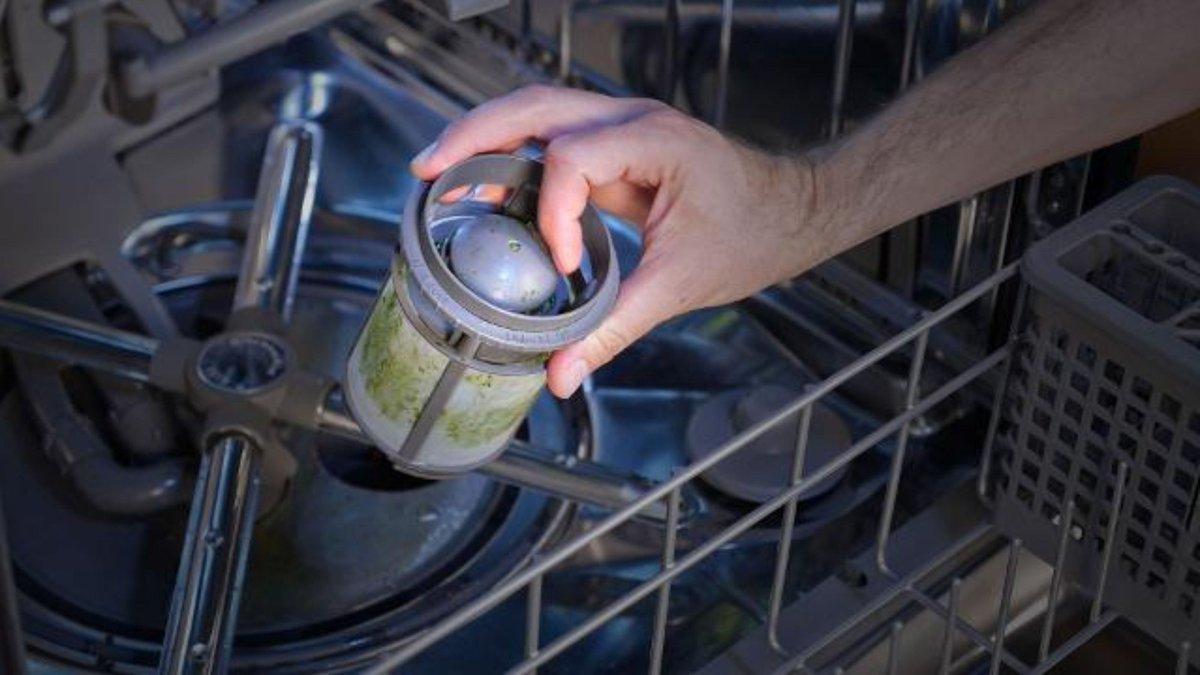 фильтр посудомоечной машины фото