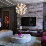 диван фиолетовый в зал