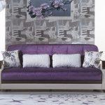 диван фиолетовый купить