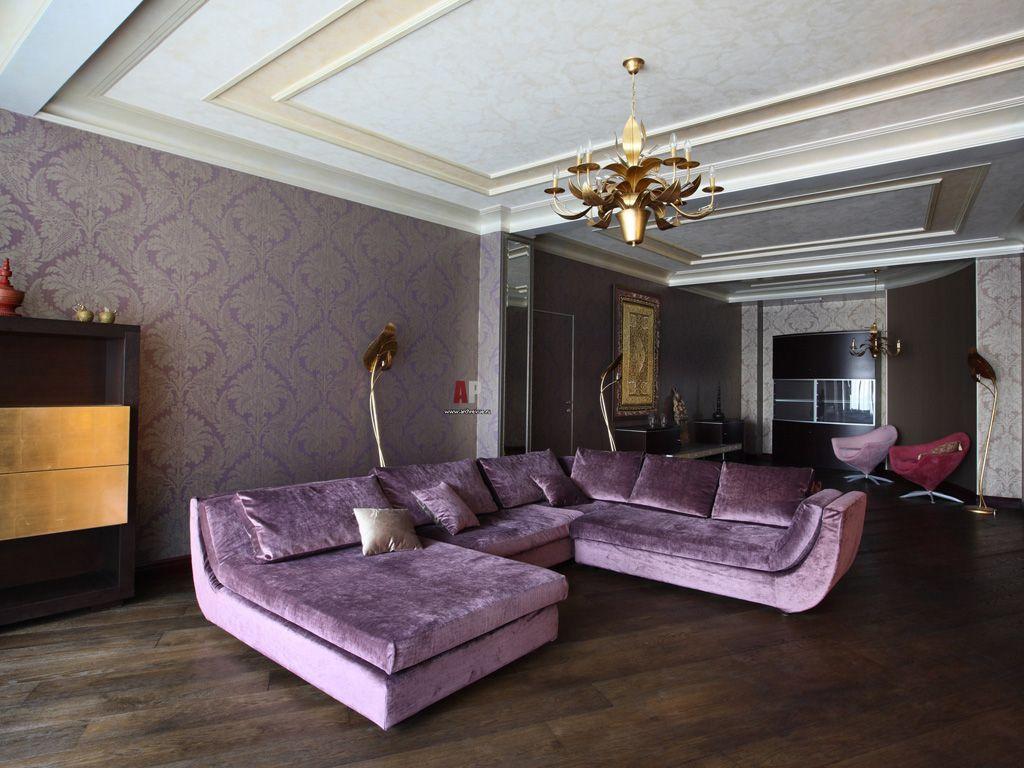Угловой большой диван