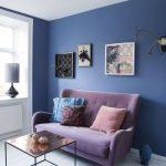 диван фиолетовый маленький