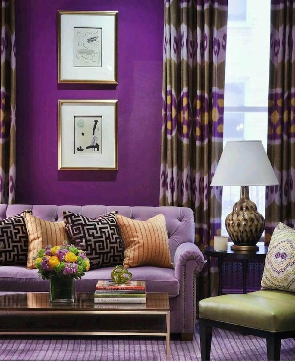 Фиолетовый создаст