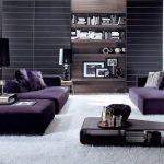 диван фиолетовый модный