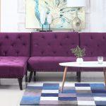 диван фиолетовый красивый