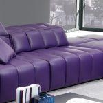 диван фиолетовый кожа
