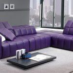 фиолет диван кожа