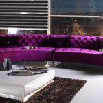 фиолет диван шикарный