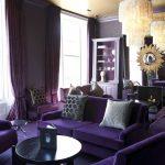 фиолет диван