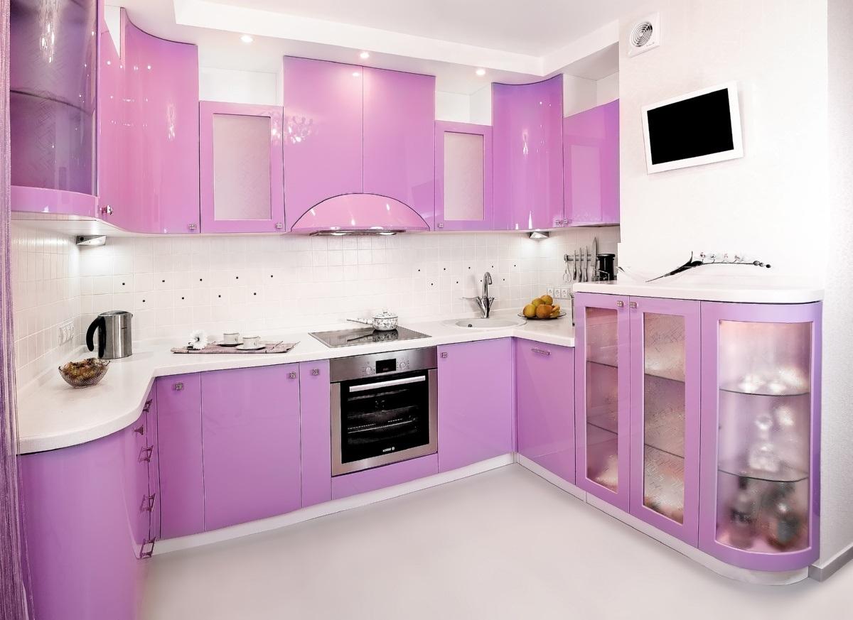 пастельные тона фиолетового