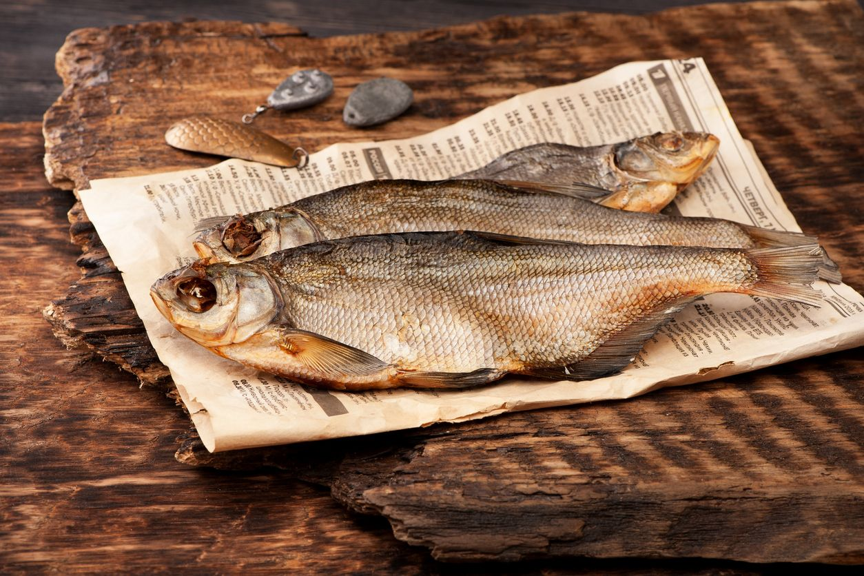 фото вяленой рыбы