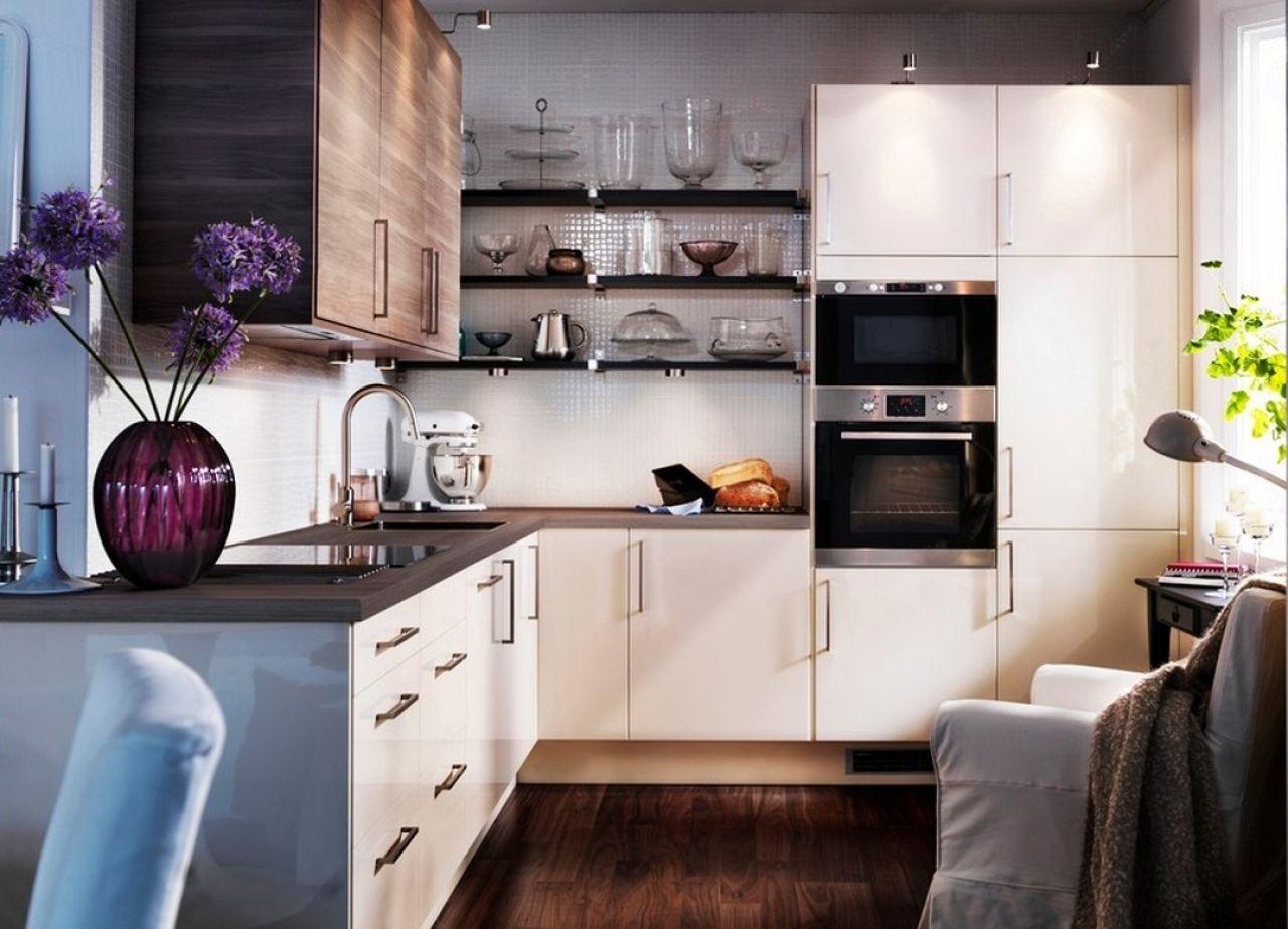 аксессуары на маленькой кухне