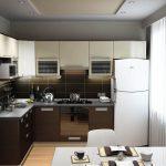 кухонный гарнитур черный
