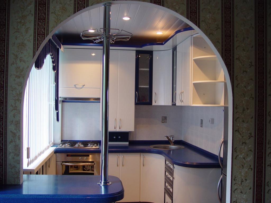 современный интерьер на кухне