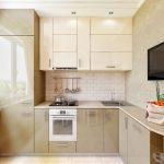 кухонный гарнитур металлик