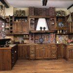 гарнитур на кухню своими руками фото интерьера